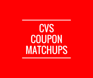 (CVS) ✂️ Matchups 07/08/18