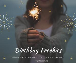 Birthday Freebies