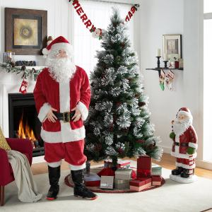 (Walmart) Holiday Time 7-Piece Santa Suit for $11.97